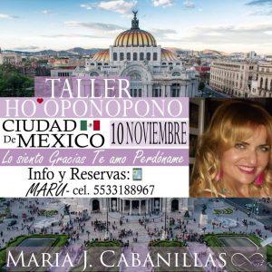 TALLER HO'OPONOPONO – 10 de noviembre – CUIDAD DE MÉXICO @ SUITES PF