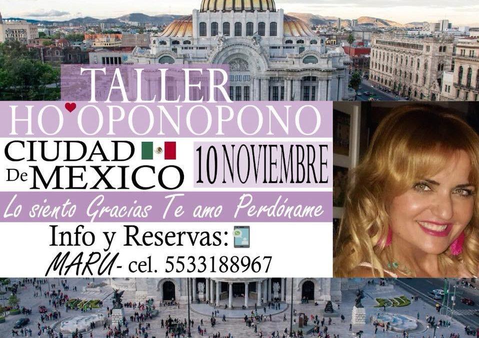 TALLER HO'OPONOPONO – 10 de noviembre – CUIDAD DE MÉXICO
