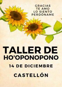 TALLER DE HO'OPONOPONO – 14 DE DICIEMBRE – CASTELLÓN @  ORIGEN – ESPAI NATURAL DE SALUT @ ORIGEN – ESPAI NATURAL DE SALUT
