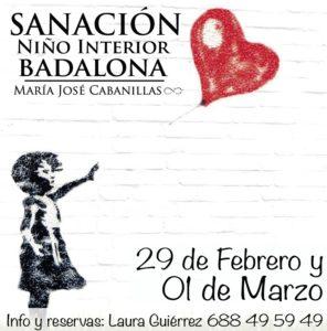 TALLER SANACIÓN NIÑO INTERIOR – 29 DE FEBRERO 1 DE MARZO – BADALONA @ CENTRO MANDALA