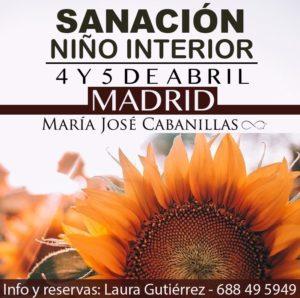 TALLER SANACIÓN NIÑO INTERIOR – 4 Y 5 DE ABRIL – MADRID @ CENTRO MANDALA