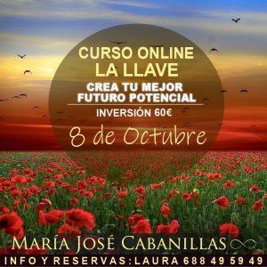 """CURSO ONLINE: """"LA LLAVE. CREA TU MEJOR FUTURO POTENCIAL"""" COMIENZO 8 DE OCTUBRE"""